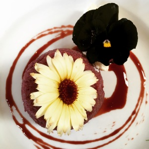 Edible flower creations!