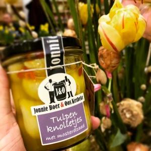 Pickled tulip bulbs