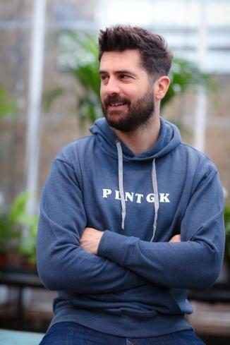 The PLNTGK hoodie