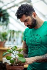 Basic Mr Plant Geek T